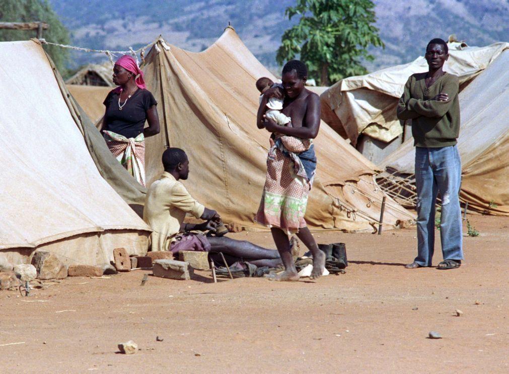 Sobem para oito mortes após temporal no centro de Moçambique