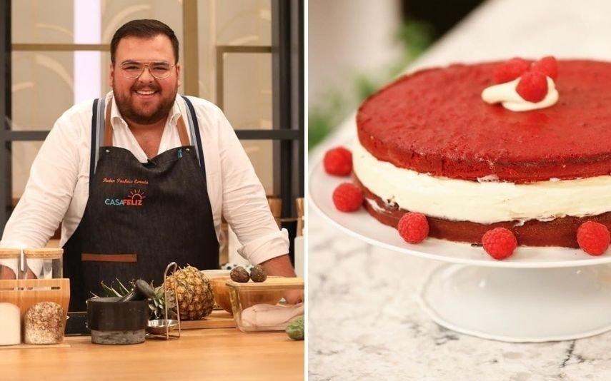 Rúben Pacheco Correia O bolo Red Velvet que o chef fez para o aniversário da SIC e que ninguém esquece