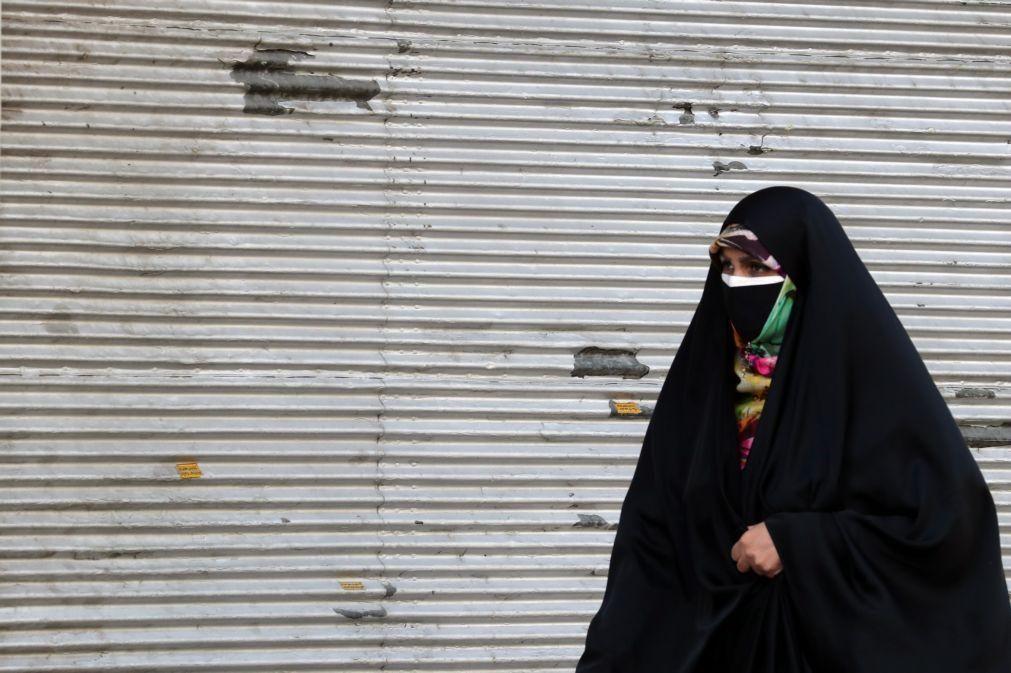 Covid-19: Número de mortos no Irão com 3.º recorde numa semana