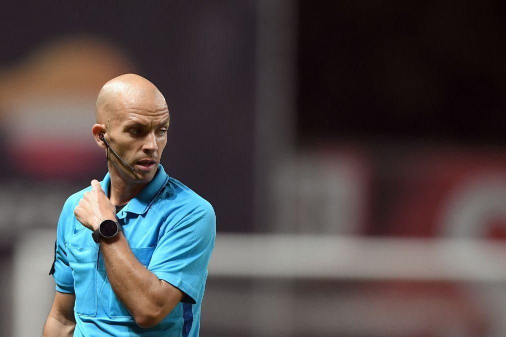 Luís Godinho é o árbitro do clássico Sporting-FC Porto