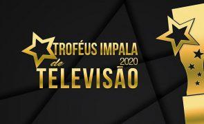 Troféus Impala de Televisão 2020. São estes os grandes vencedores da edição deste ano