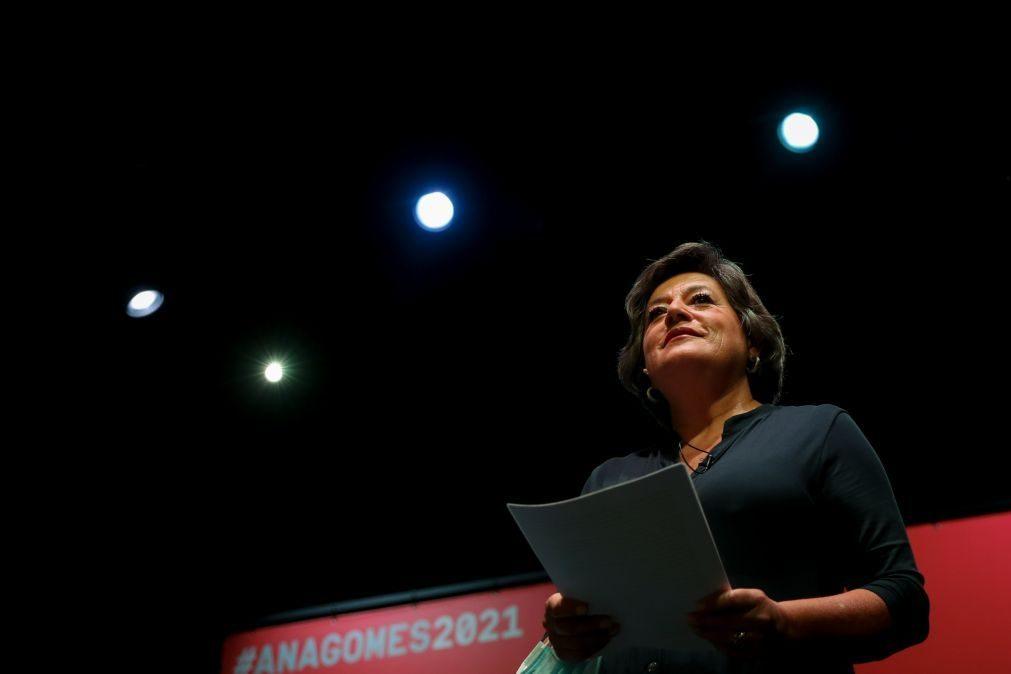Ana Gomes cancela campanha presidencial nas próximas duas semanas por causa da pandemia