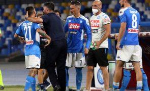 Covid-19: Nápoles punido com derrota 3-0 com Juventus e perde ainda um ponto