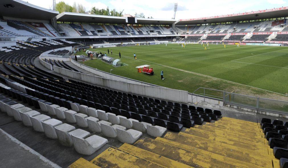 Vitória de Guimarães vai ter miniestádio de 2.500 lugares na academia