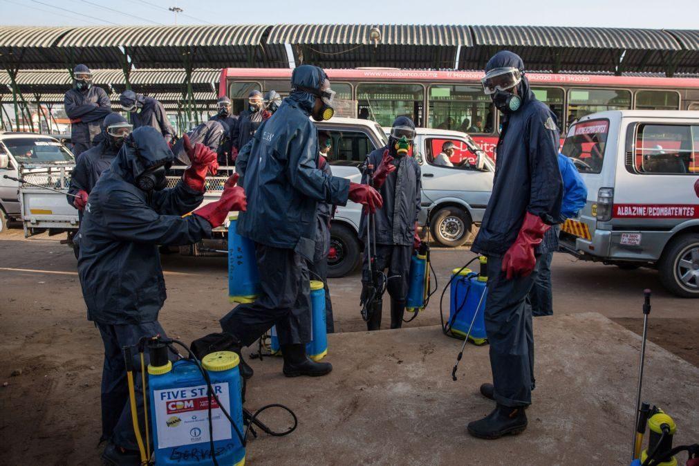 Covid-19: Moçambique anuncia 134 novos casos, sem óbitos