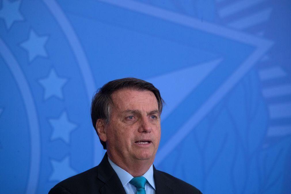 Covid-19: Bolsonaro diz que pandemia foi