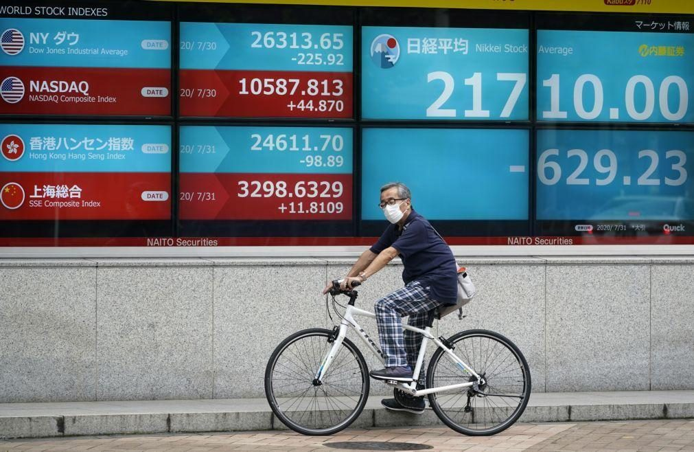 Bolsa de Tóquio fecha a descer 0,51%