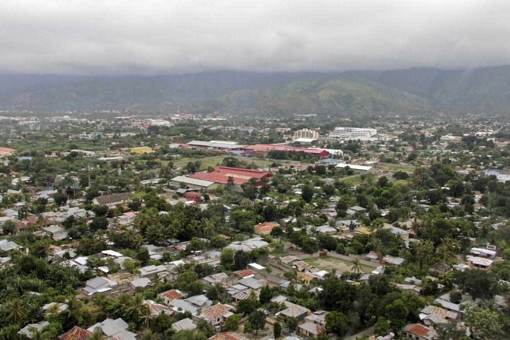 Governo timorense prevê que economia recue este ano 6%, recuperando em 2021