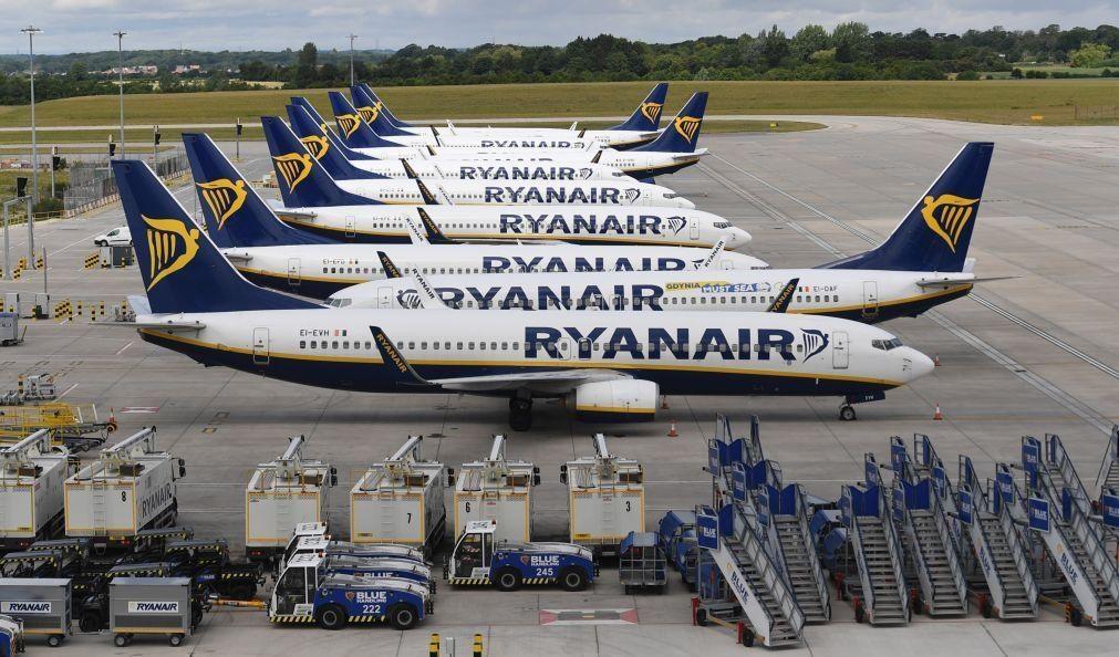 Covid-19: Ryanair reduz capacidade de voos em Portugal no inverno