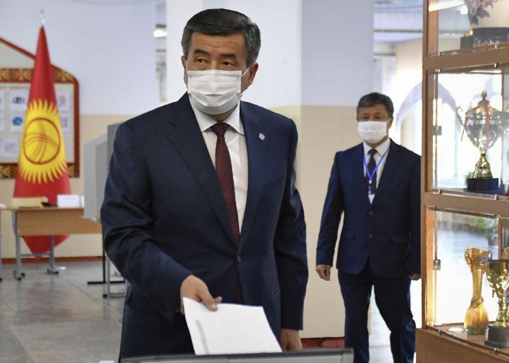 Presidente do Quirguistão anuncia demissão