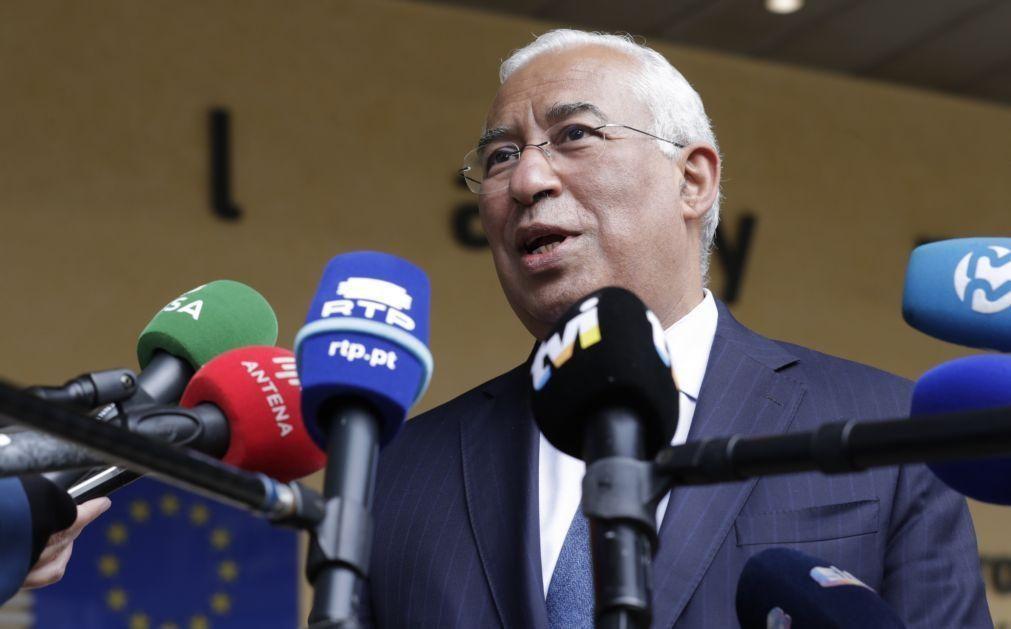 Costa entrega Plano de Recuperação em Bruxelas e espera