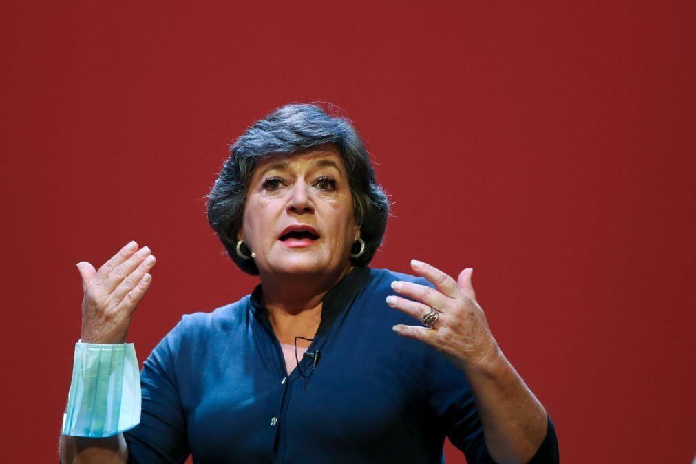 Presidenciais: Ana Gomes quer requisição civil dos privados da saúde em caso de emergência com covid-19