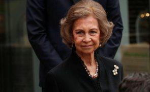 Rainha emérita Sofia Sai do «exílio» para participar nos Prémios Princesa das Astúrias