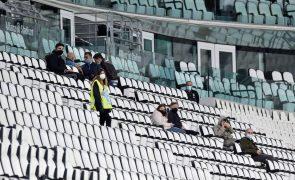 Juventus regista perdas financeiras de 89,7 ME em 2019/20