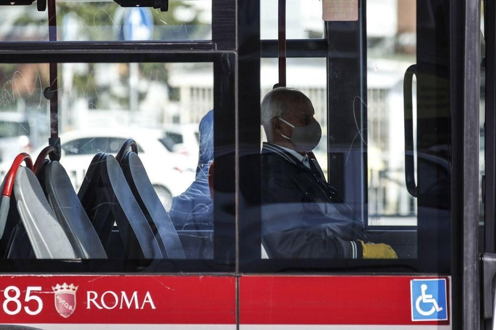 Covid-19: Itália regista novo recorde de casos diários com 8.804 infeções
