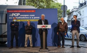 PCP ataca Governo do PS por