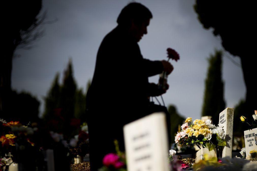 Covid-19: Cemitérios encerrados em Estarreja nos dias de Todos os Santos e Fiéis Defuntos