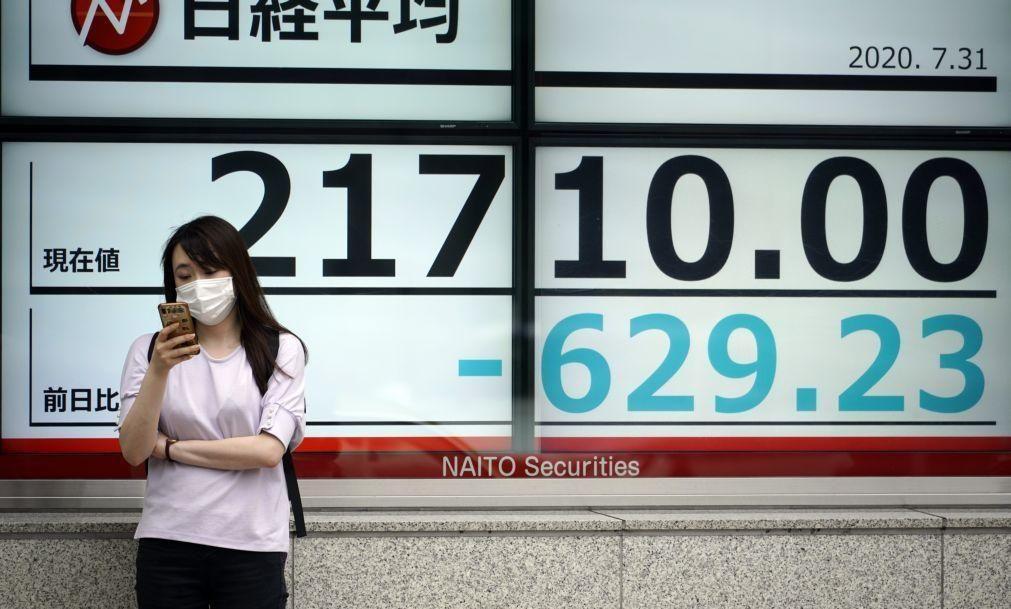 Bolsa de Tóquio fecha a descer 0,41%