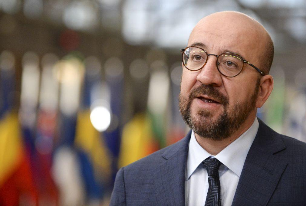 UE/Cimeira: Charles Michel insta líderes a terem vontade política para acordo sobre clima