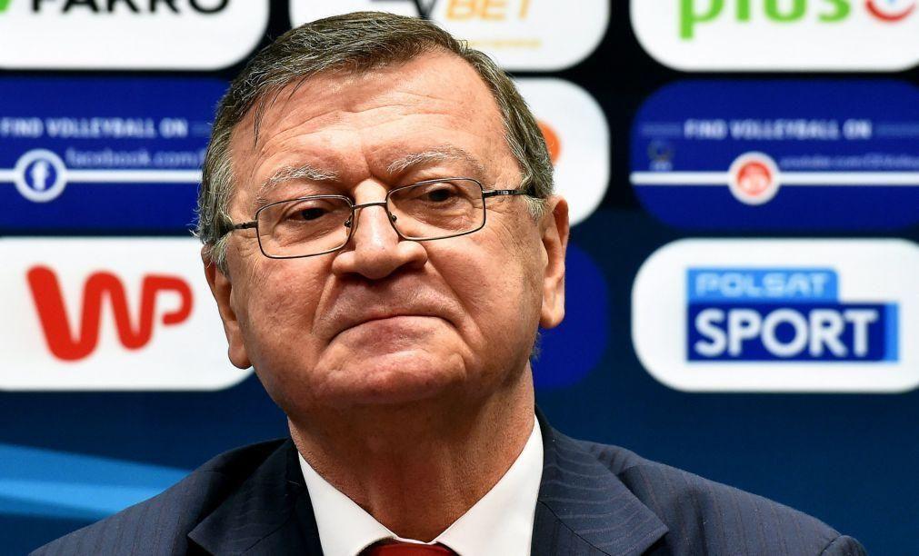 Aleksandar Boricic reeleito presidente da Confederação Europeia de Voleibol