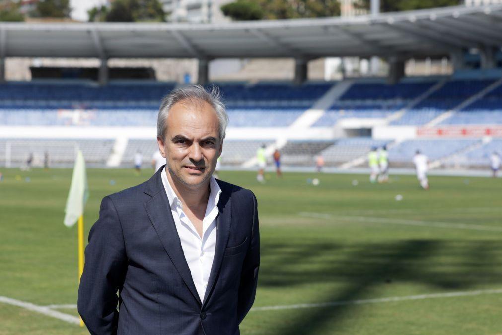 Presidente do Belenenses diz que SAD se prepara para mudar nome para Comporta FC