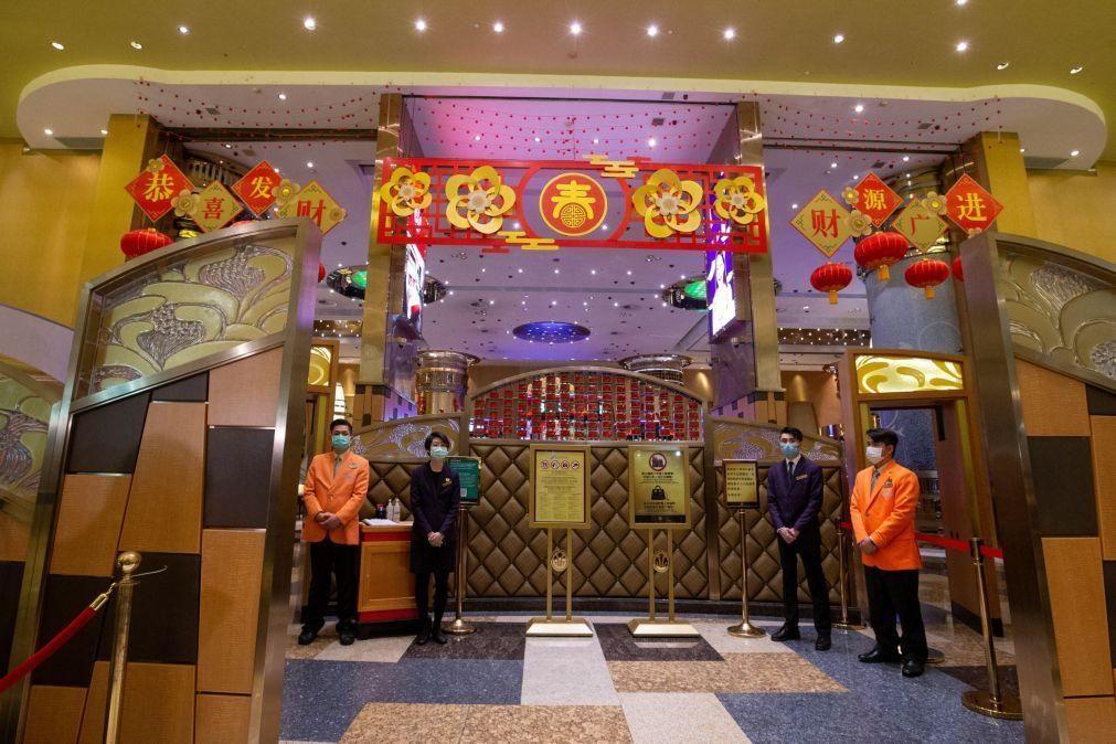 Covid-19: Sobem as grandes apostas em Macau, mas longe dos números habituais