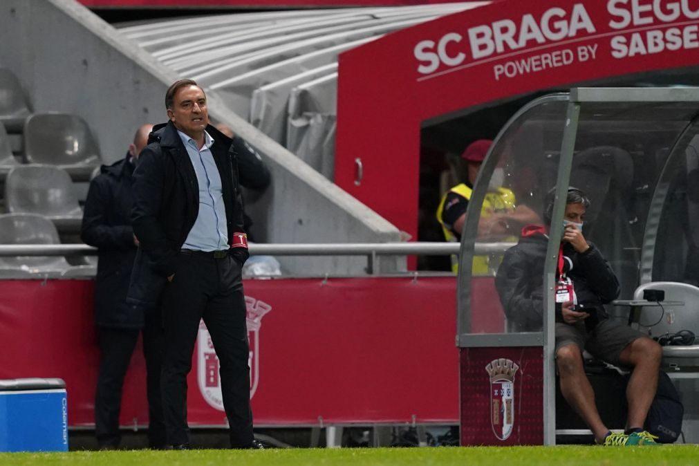 Carlos Carvalhal diz que jogo com Nacional