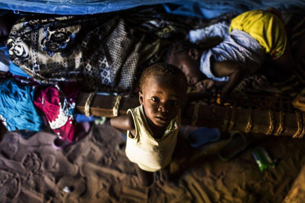 Governo angolano reconhece vulnerabilidade de crianças desnutridas