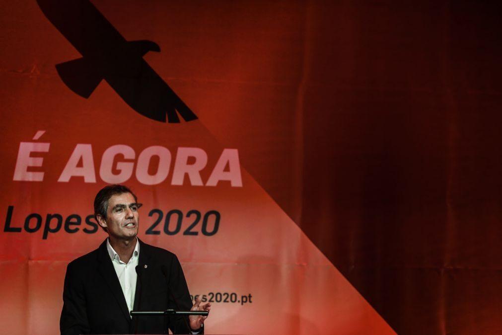 João Noronha Lopes formaliza candidatura para a presidência do Benfica