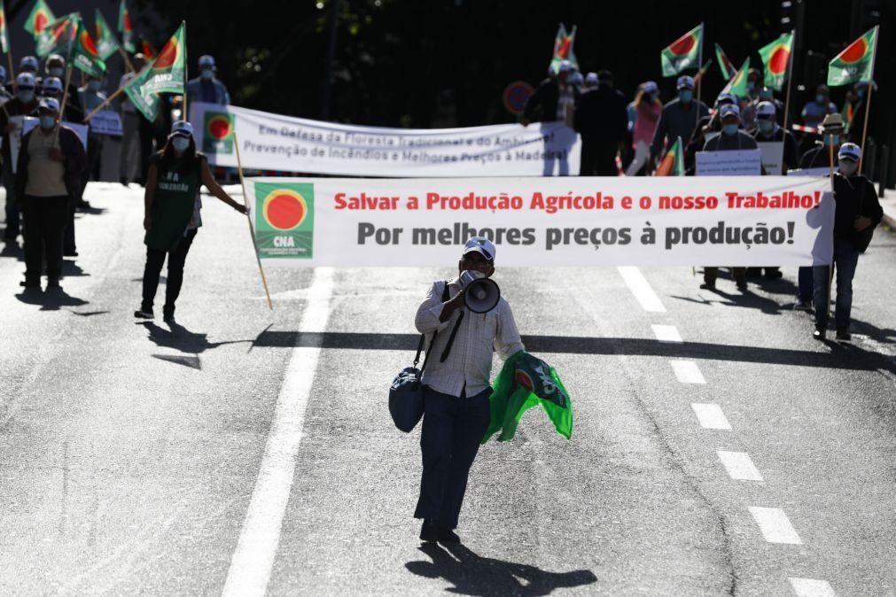 OE2021: Agricultores protestam por mais apoios para pequenas e médias explorações