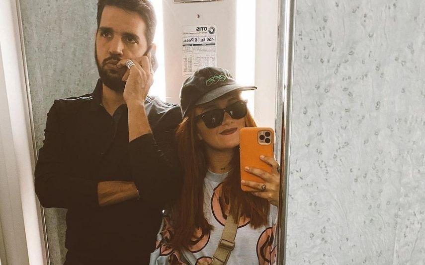 Carolina Deslandes lado a lado com Diogo Clemente no elevador: «Equipa épica»
