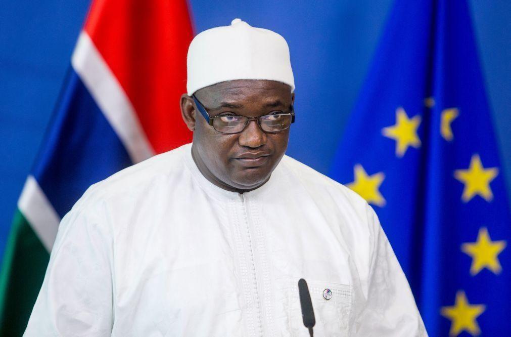 Covid-19: Presidente da Gâmbia anuncia reabertura imediata das fronteiras