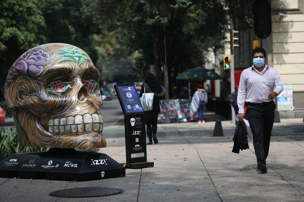 Covid-19: México com mais 419 mortos e 6.751 novos casos, valor mais alto desde agosto