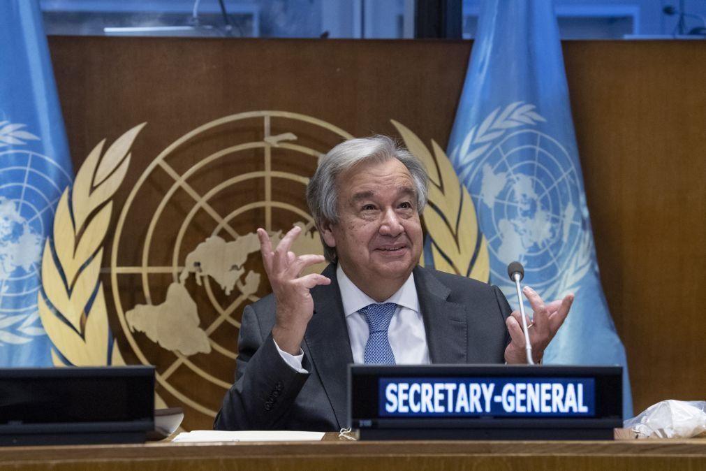 Guterres convicto de que «estamos num momento de refundação» das instituições mundiais