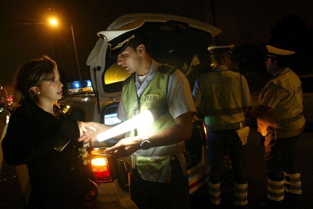 GNR deteve 26 pessoas e registou 35 acidentes nas últimas 12 horas