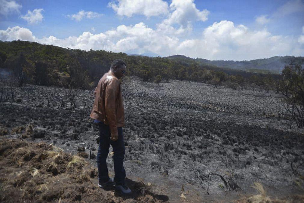 Incêndio no Kilimanjaro está controlado