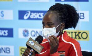 Queniana Peres Jepchirchir campeã mundial da meia maratona com novo recorde