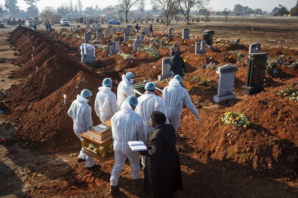 Covid-19: África com mais 181 mortes nas últimas 24 horas