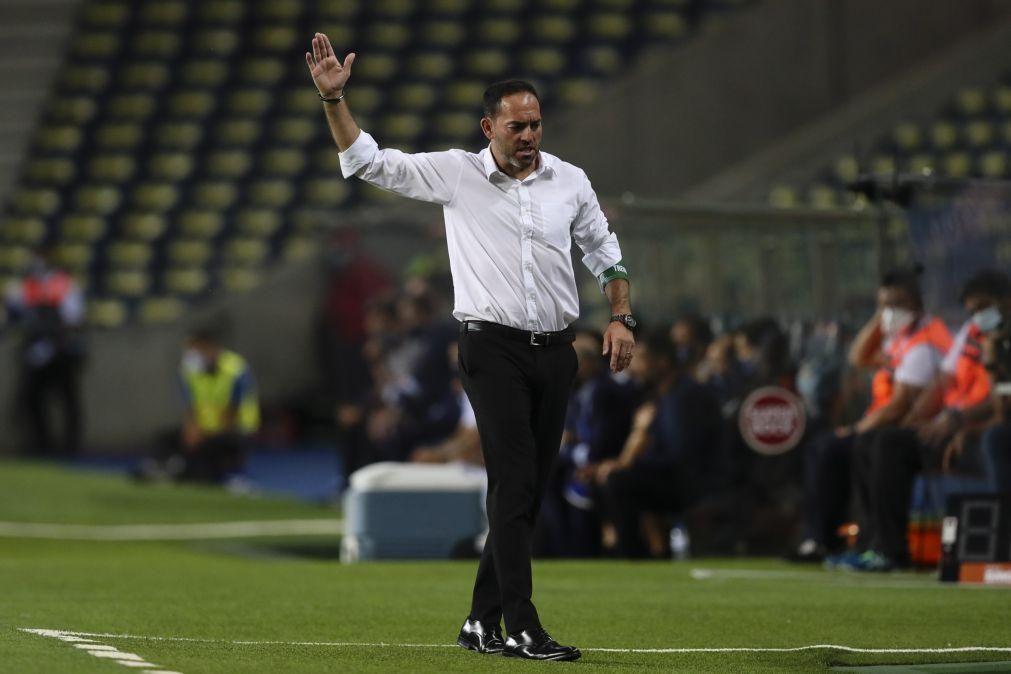 Ricardo Soares despreocupado com a saída do goleador Fábio Abreu do Moreirense