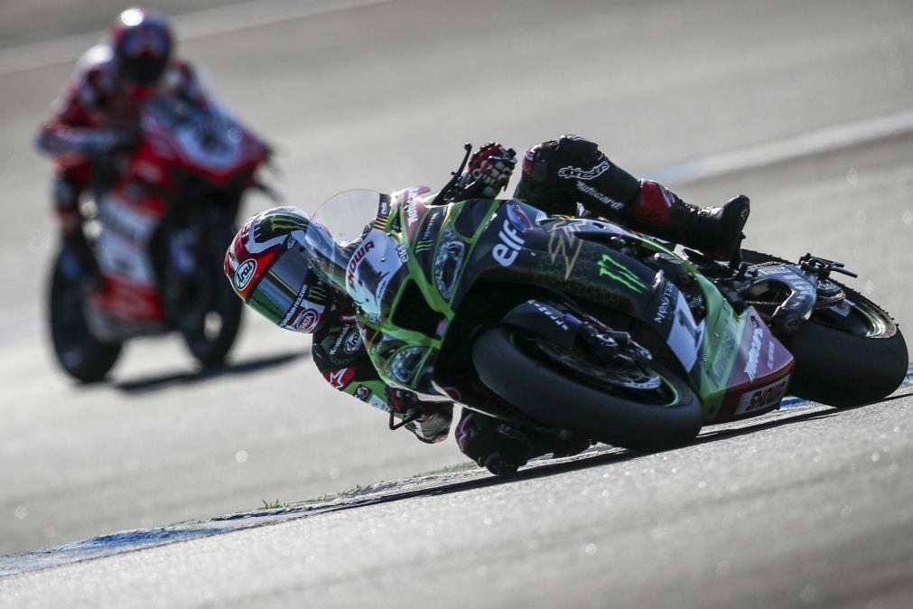 Jonathan Rea sagra-se campeão mundial de Superbike no Estoril