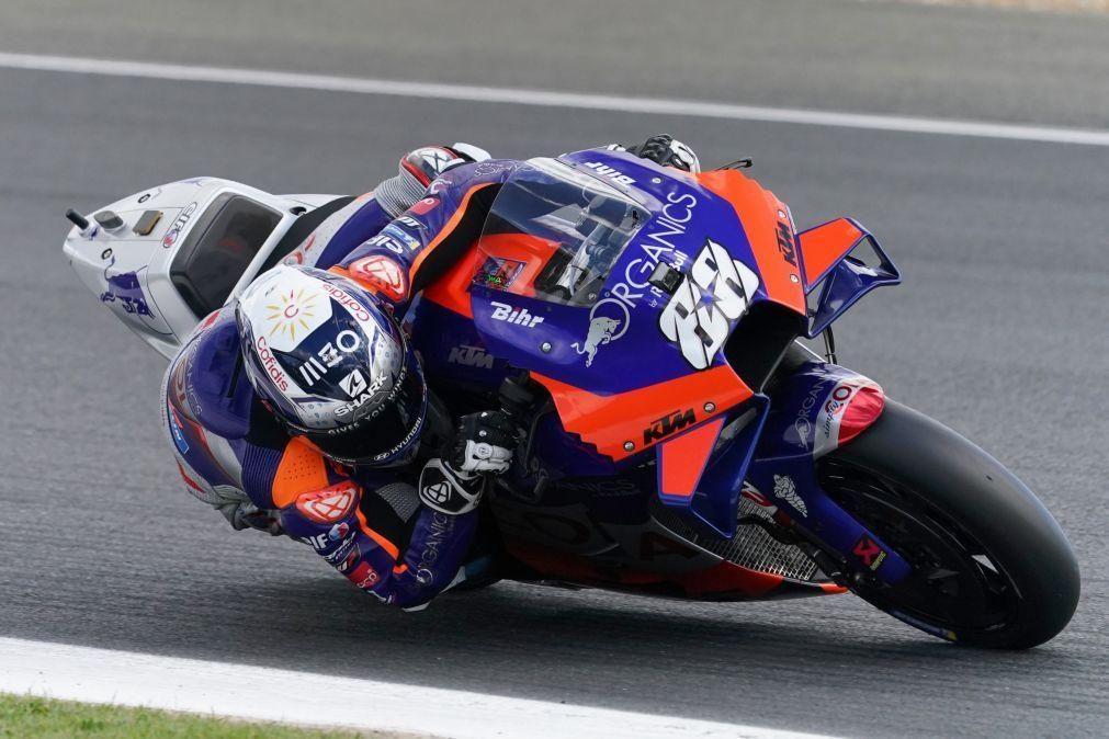 Miguel Oliveira em 18.ª na qualificação para o GP de Aragão de MotoGP