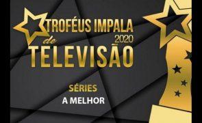 Troféus Impala de Televisão 2020. Vencedora de Melhor Série recebe prémio (vídeo)
