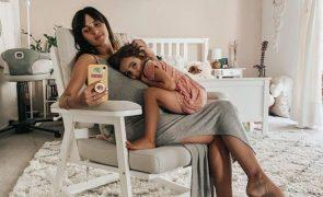 Ana Free Segunda filha da cantora nasceu de cesariana: «Estou a tentar andar»