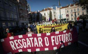 Cerca de 150 pessoas manifestam-se em Lisboa com apelo ao Governo para