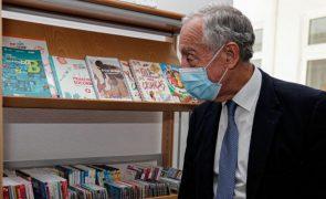 Covid-19: Marcelo não descarta subida do défice para reforçar pessoal no setor da saúde