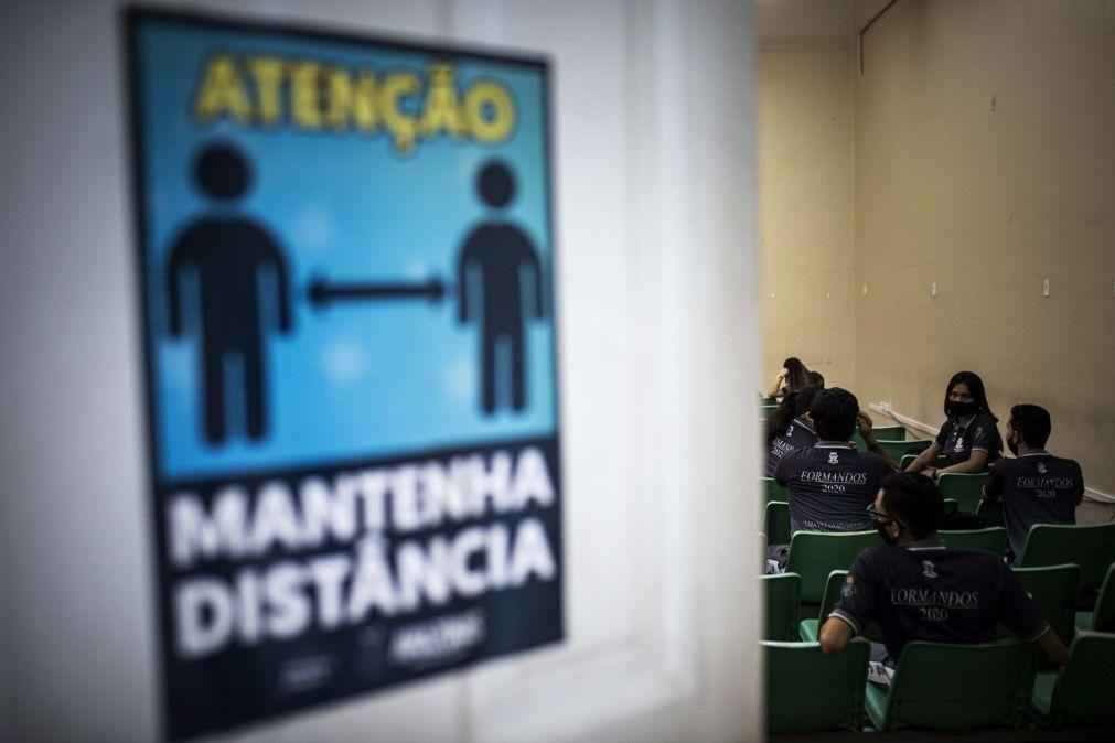 Covid-19: Brasil regista 461 mortes e 24.062 casos em 24 horas