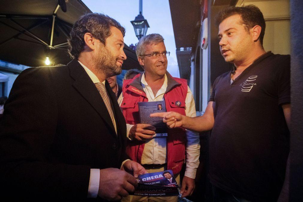 Covid-19: André Ventura diz que Portugal não pode voltar a fechar