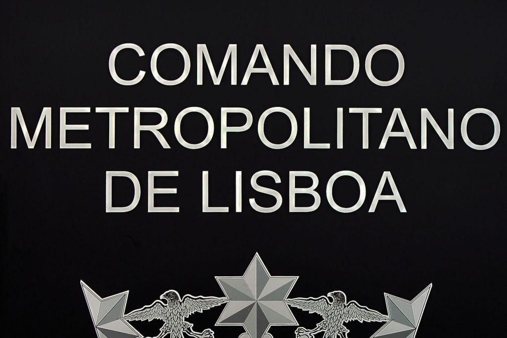 PSP de Lisboa deteve 30 pessoas em 24 horas