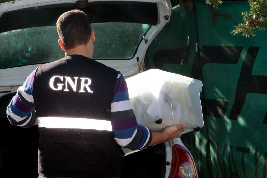 GNR fez 49 detenções em flagrante delito em 12 horas