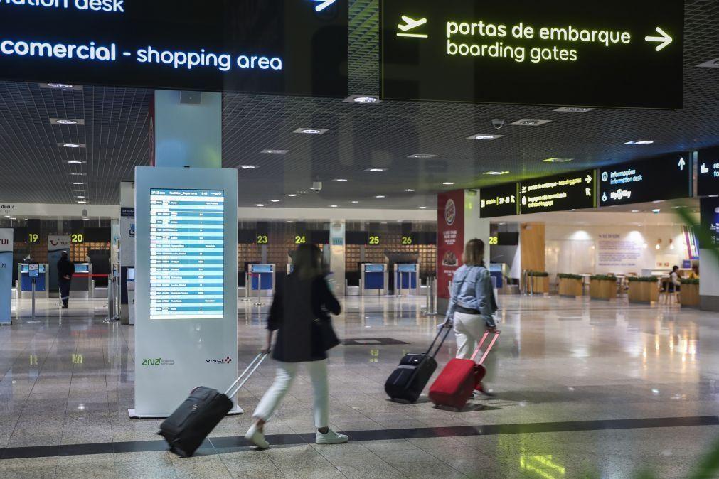 Movimento condicionado no aeroporto da Madeira devido ao mau tempo